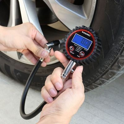 Car Tyre Pressure Gauge Motorbike Digital Air Auto Tire Meter Tester 0-200 psi Digital Tyre Pressure Gauge