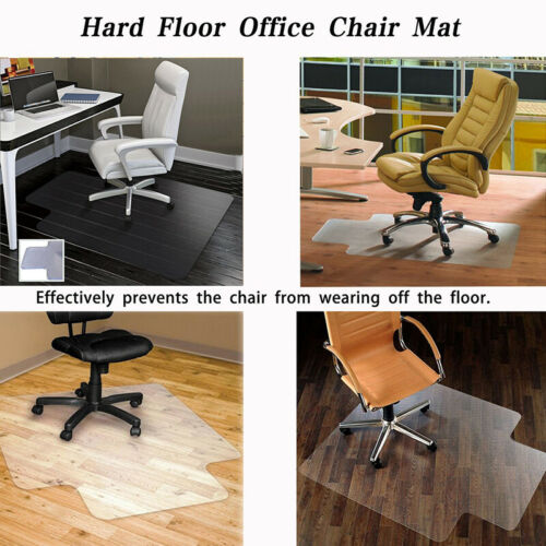 36*48 Wood Hard Floor Matte Office Computer Work Chair Mat V