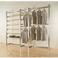 Retail Store Wall Fixture System-Showroom Wall Display Rack