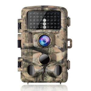 "Trail Camera 14MP 1080P 2.4"" Waterproof"