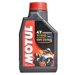 3-LT-LITRI-OLIO-motore-moto-4t-MOTUL-7100-10W40-100-Sintetico-NEW-Ester