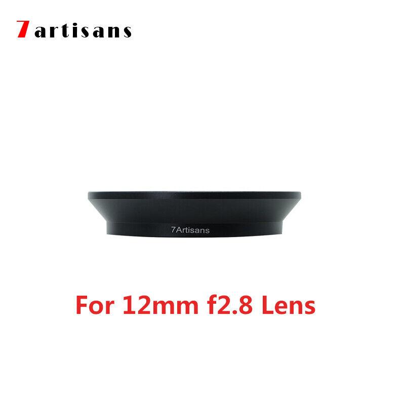 7artisans 12mm F2.8 Lens UV CPL Filter Adapter Hood Bracket Free eTone 77mm UV