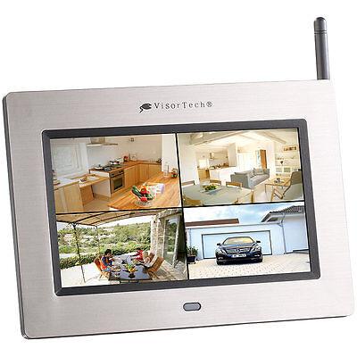 """Funk Überwachung: 17,8 cm (7"""") Überwachungs-Monitor mit Aufnahme-Funktion"""