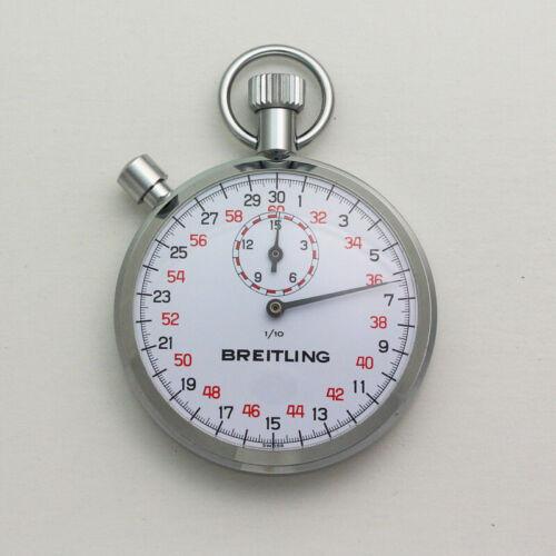 NOS Breitling Ref. 1518 Chronograph Pocket Timer