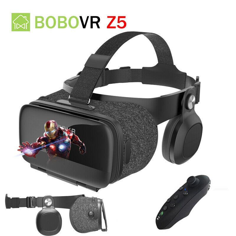 Virtual Reality Google 3D VR Headset Controller With Remote For Android iPhone