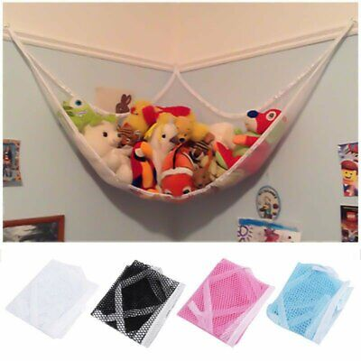 Jumbo Hammock Toy Net Organizer Corner Stuffed Animals Kids Hanging/Bath Toys US