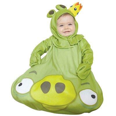 Kostüm~USA~56-62-68~Angry Bird~Fasching~Karneval~Babykostüm~Baby~Overall~grün ()