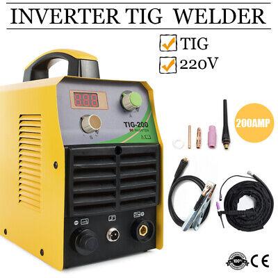 200a Tig Welder Stick Tig Welding Machine 220v Inverter Tig Torch Accessories