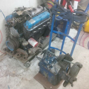 302 motor and 4 speed transmission