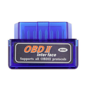 Vehicle Diagnostic Code Reader OBD2 Bluetooth Mini $15.00