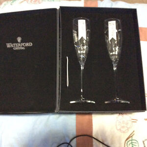 Waterford Love Flutes, wedding gift