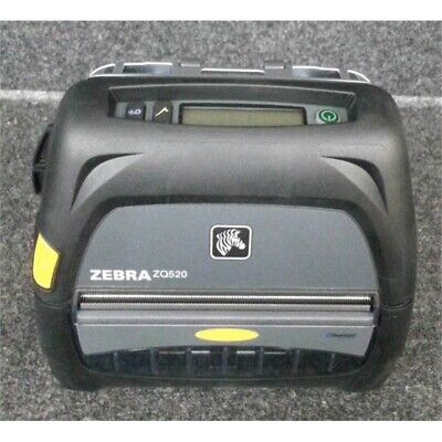 Zebra Zq520 Direct Thermal Monochrome Mobile Receipt Printer No Batterycord