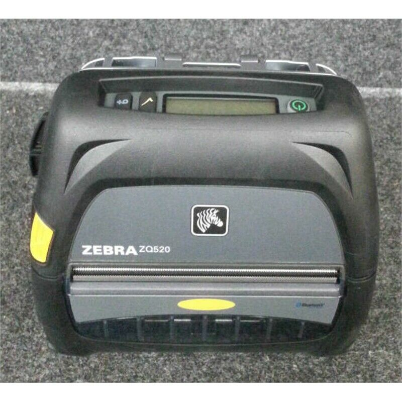 Zebra ZQ520 Direct Thermal Monochrome Mobile Receipt Printer NO BATTERY/CORD