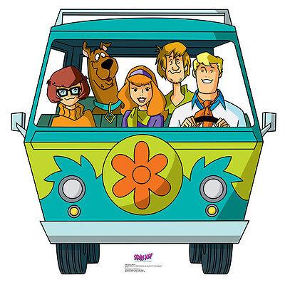 Cardboard Stand Up (MYSTERY MACHINE Scooby-Doo Mystery Inc CARDBOARD CUTOUT Standup Standee Poster)