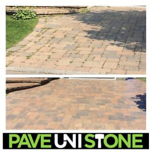 PAVER CLEANING - PAVER RE-RELEVELLING - PAVE_UNI STONE West Island Greater Montréal image 5