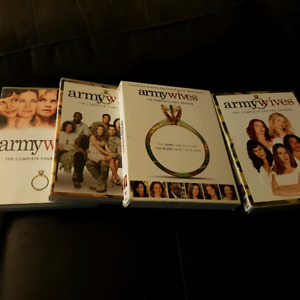 Army wives DVDs seasons 1 to 4