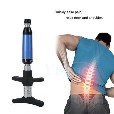 Back Massage Portable Chiropractic Adjusting Tool Spine Activative Four Heads Bt