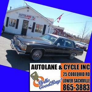 1988 Cadillac Brougham Sedan Only 111000kms Drives Great