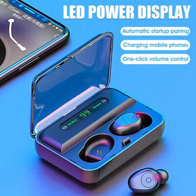 Earphones Bluetooth Wireless Headphones Sport In Ear Earbuds with Mic for Iphone