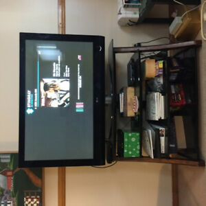 LG TV and stand