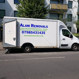 Removals service man and van London movers office Relocation house cle