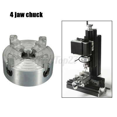 Mini 4 Jaws Lathe Chuck M12 Collet Thread Cnc Drilling Tool