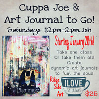 Cuppa Joe & Art Journal to Go