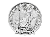 2016 1oz Silver Britannia coins