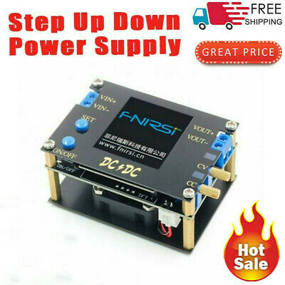 Dc-dc Buck-boost Converter Adjustable Cc Cv Step Up Down Power Supply Module