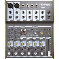 Tapco 10 channel mixer- as is