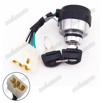 Ignition Key Switch For Gas Generator All Power America Jiangdong Electric Start
