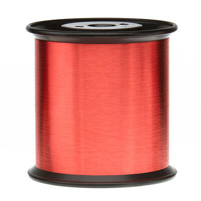 43 Awg Gauge Enameled Copper Magnet Wire 5.0 Lbs 0.0024 155c Red Mw-79-c