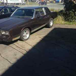 1981 Monte Carlo must sell