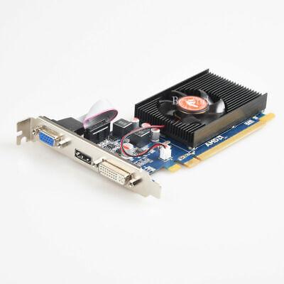 AMD ATI Radeon HD 7450 2GB VGA HDMI DVI PCI-E Video Card For Chassis 2 Vga Video Card