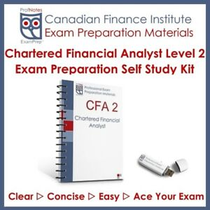 CFA Kaplan Schweser Level 2 2018 Study Textbooks