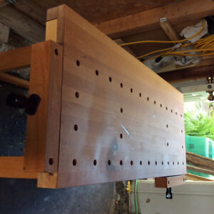 Cabinet makers workbench .Lee Valley