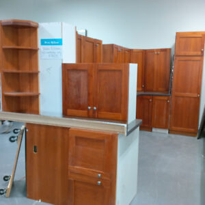 Beautiful wooden kitchen with counter top for only $750!