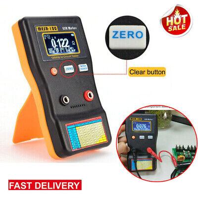 Mesr-100 Autoranging Capacitor Esr Ohm Capacitor Meter Measure In Circuit Tester