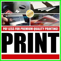 LOW COST PRINTING | Flyers, Business Cards, Plastic, Banners