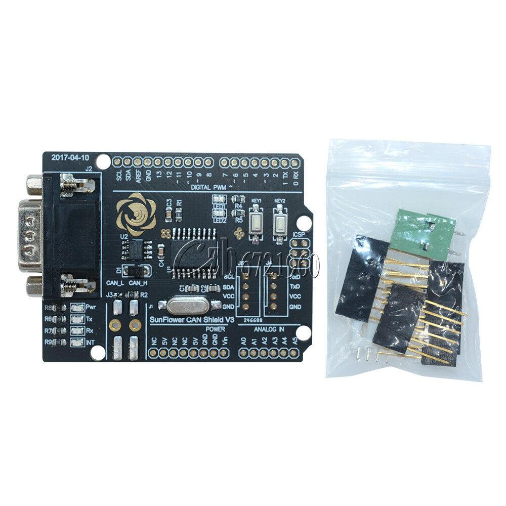 for arduino mcp2515 can bus controller shield board module. Black Bedroom Furniture Sets. Home Design Ideas