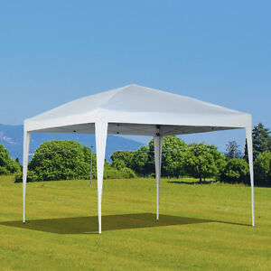 10'x10' Patio Pop Up Gazebo Marquee Party Tent Wedding Canopy He