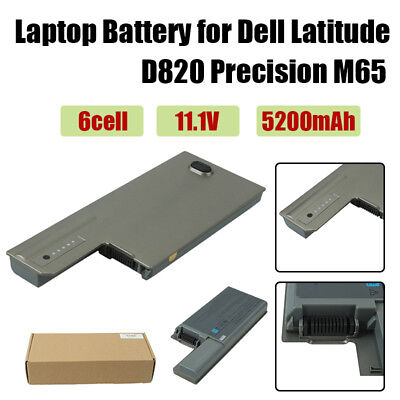 5200mAh Long Life Notebook Laptop Battery for Dell Latitude D820 Precision M65 Dell Latitude Battery Life