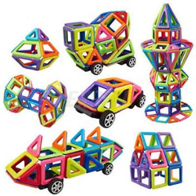 76PCS Similar Magformers Magnetic Construction Building Toys children Blocks USA