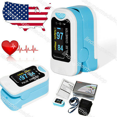 Usa Finger Fingertip Blood Oxygen Meter Spo2 Oled Pulse Heart Ratehomeclinic
