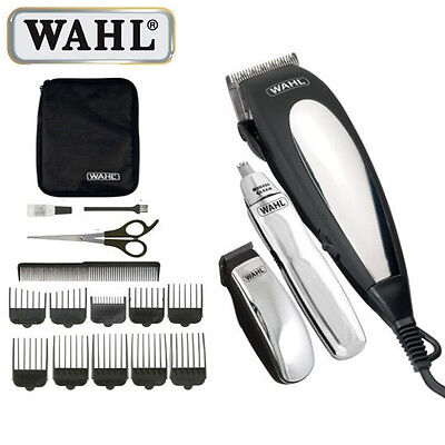 WAHL COMPLETE MAINS HAIR CLIPPER GIFT SET BEARD TRIMMER HAIRCUTTING MACHINE KIT