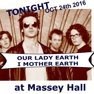 OUR LADY PEACE I MOTHER EARTH-October 24th 2016 @ Massey Hall,