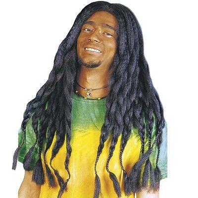 Rastafari Soul Rebel lang Reggae Rastazöpfe #6041 (Rastafari Perücke)