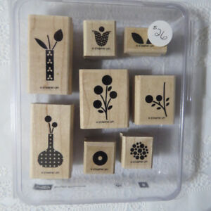 """""""Stampin' up""""  stamps...""""Bright Blossoms"""""""