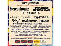 Volunteer at Y Not Festival - go for free without missing any of the festival!