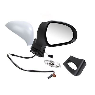 PEUGEOT 207 2006 2013 PRIMED ELECTRIC DOOR WING MIRROR DRIVERS SIDE RIGHT OS
